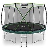 Kinetic Sports Gartentrampolin TBSE1200, 366 cm, grün
