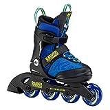 K2 Inline Skates RAIDER PRO Für Jungen Mit K2 Softboot, Blue - Yellow, 30F0205
