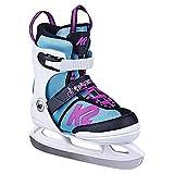 K2 Skates Mädchen Schlittschuhe Juno Ice — white - light blue — EU: 35 - 40 (UK: 3 - 7 / US: 4 - 8) — 25D0304