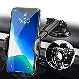 RAXFLY Handyhalterung-Auto Lüftung, 3 in 1 Handyhalter-Auto Handyhalterung Saugnapf, 360° KFZ-Handy-Halterung Auto Handyhalter fürs Auto Kompatibel für iPhone 11 Pro XS XR X 8 7 Samsung Huawei usw
